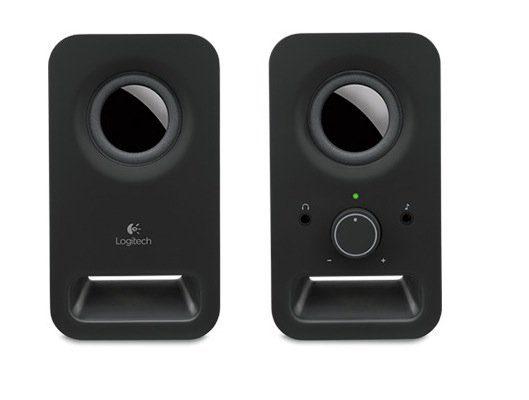 Logitech Lautsprecher »Z150 Multimedia Speakers schwarz- 980-000814«