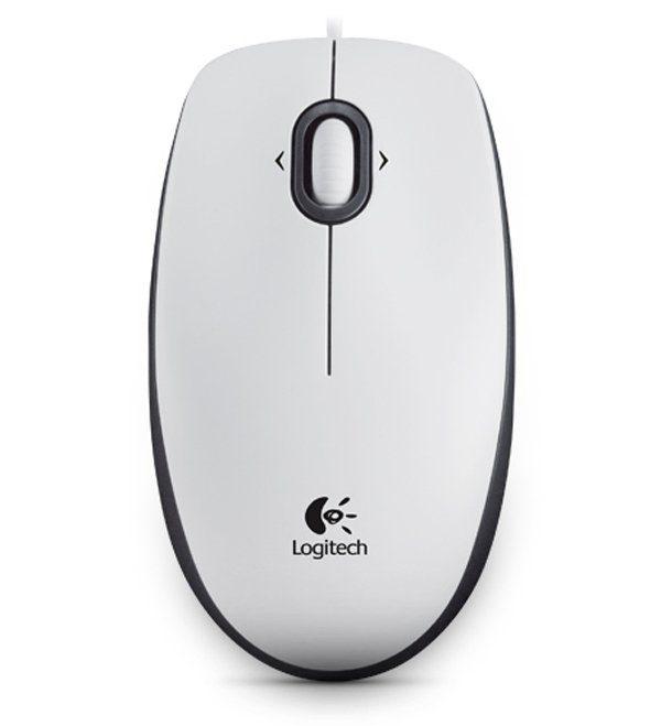 Logitech Maus »Mouse M100 White - 910-001605«