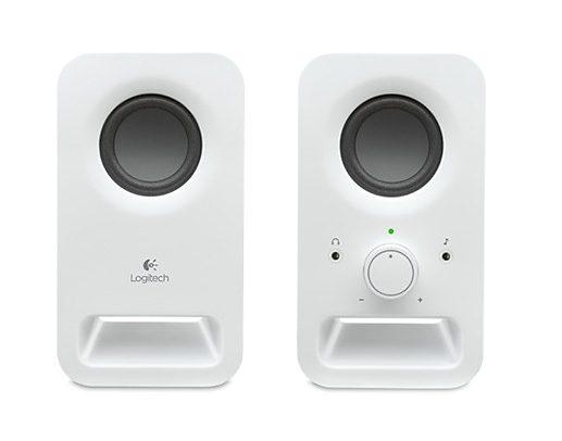Logitech Lautsprecher »Z150 Multimedia Speakers weiß - 980-000815«