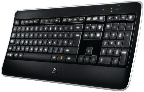 Logitech Tastatur »K800 Wireless Illuminated - 920-002360«