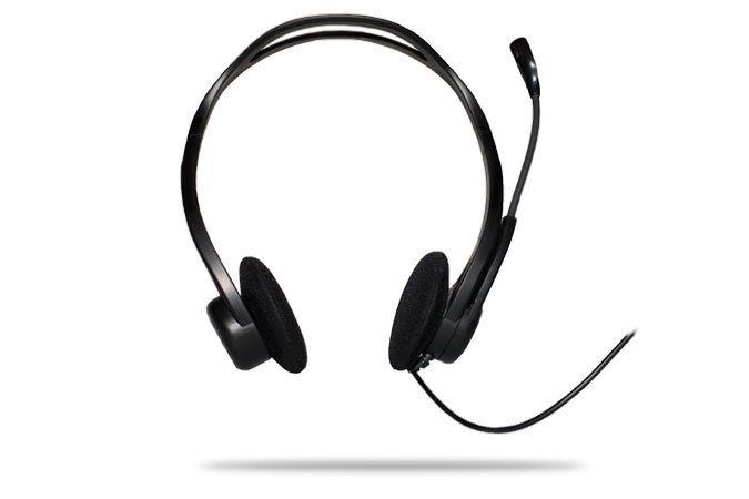 Logitech Headset »PC 960 Stereo Headset USB - 981-000100«