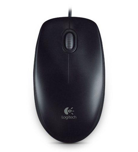 Logitech Maus »B100 Optical USB Maus schwarz«