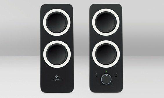 Logitech Lautsprecher »Z200 Multimedia Speakers schwarz - 980-000810«