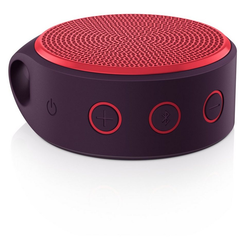 Logitech Lautsprecher »X100 Mobile Speaker rot - 984-000366«