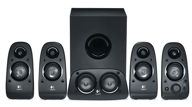 Logitech Lautsprecher »SURROUND SOUND Speaker Z506«