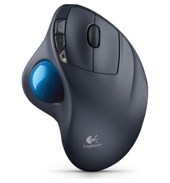 Logitech Maus »Wireless Trackball M570 - 910-002090«