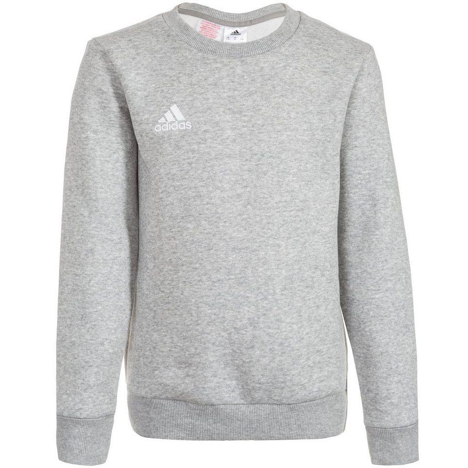 adidas Performance Core 15 Sweatshirt Kinder in grau / weiß