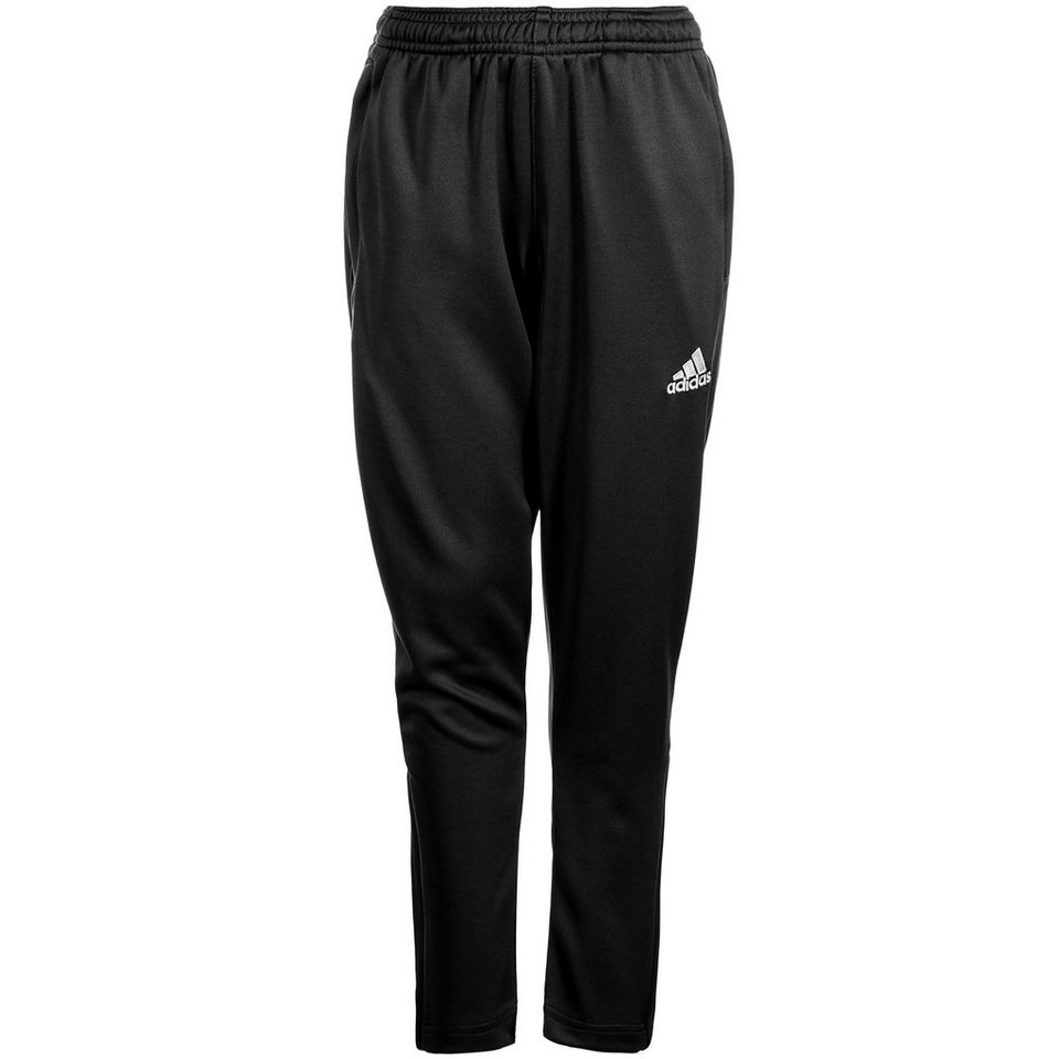 adidas Performance Core 15 Trainingshose Kinder in schwarz / weiß