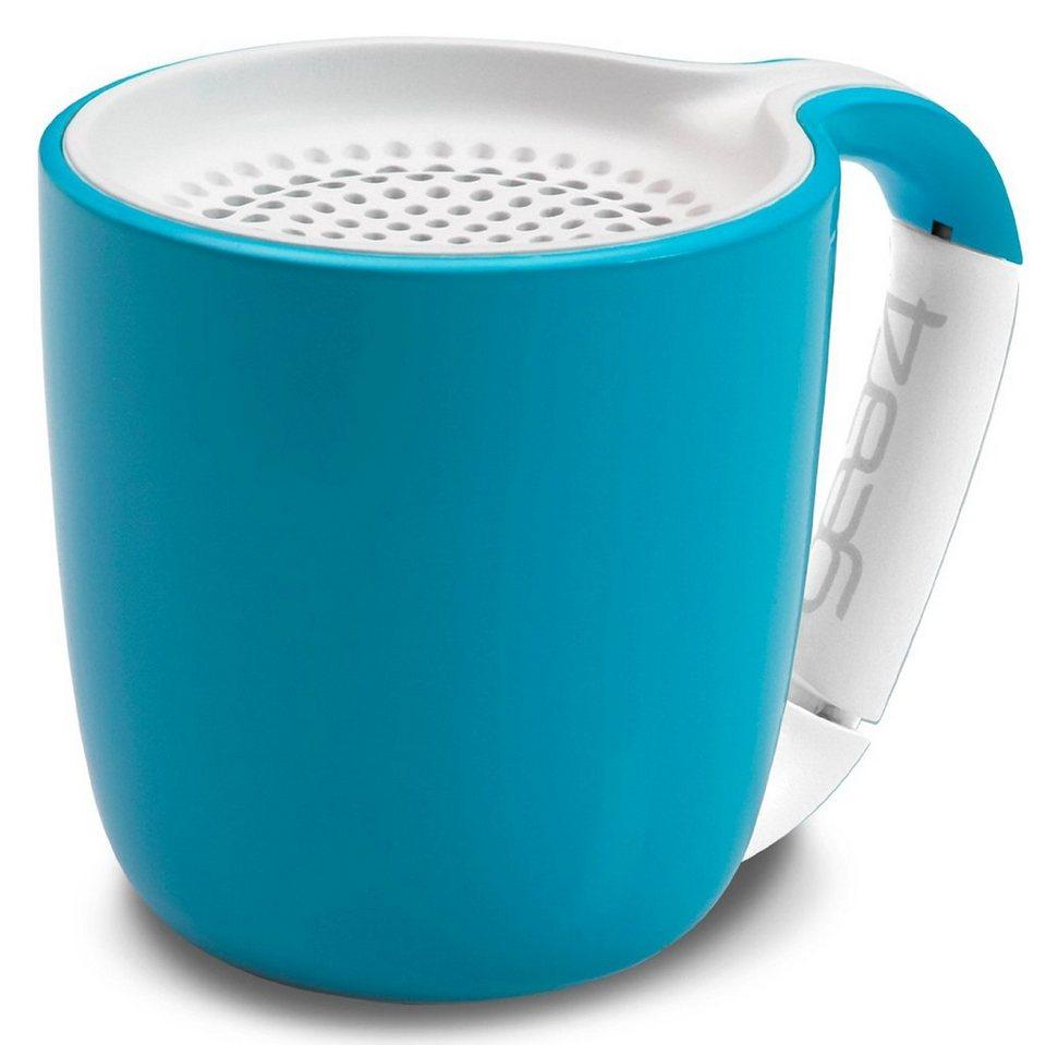 Gear4 Audiosystem »Espresso Bluetooth Cyan« in blau