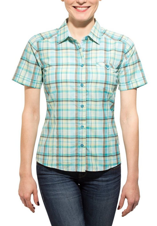 axant Bluse »Alps Travel Shirt Agion Active Women« in petrol