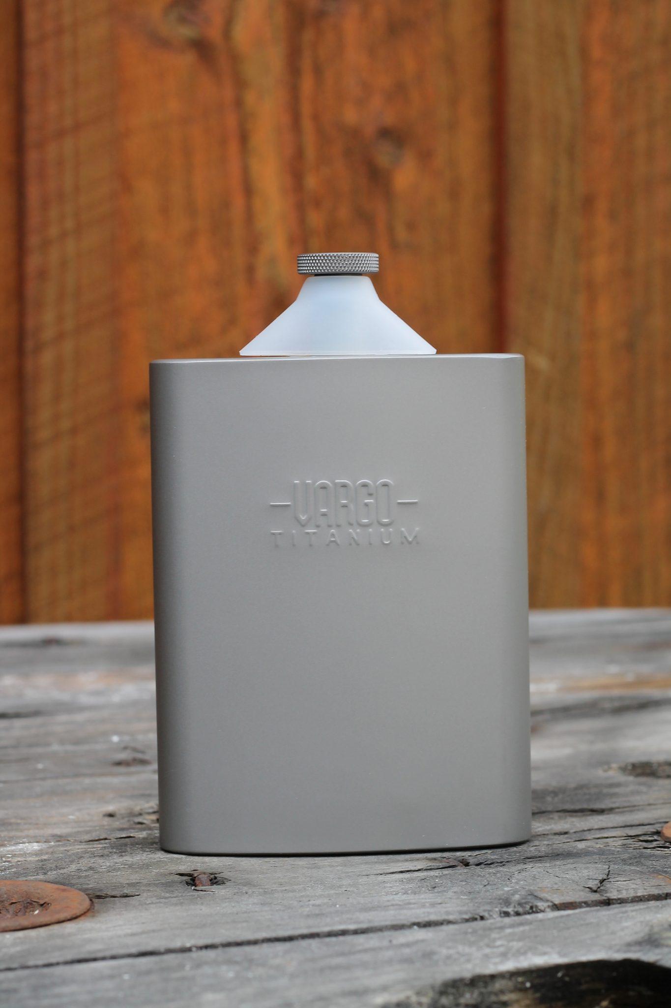 Vargo Trinkflasche »Titan Flachmann 240ml«