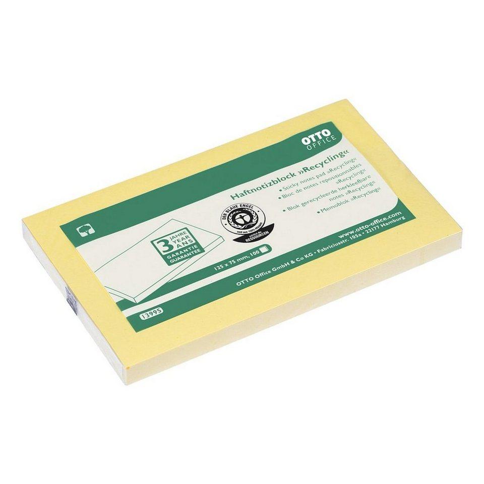 OTTOOFFICE_NATURE Haftnotizblock »Recycling Notes«