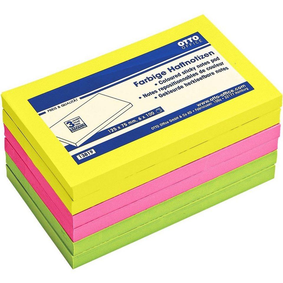 OTTO Office Standard 6er-Pack Haftnotizen