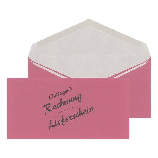Mailmediade Business-Umschlag DL 500 Stück »Lieferschein/Rechnung«
