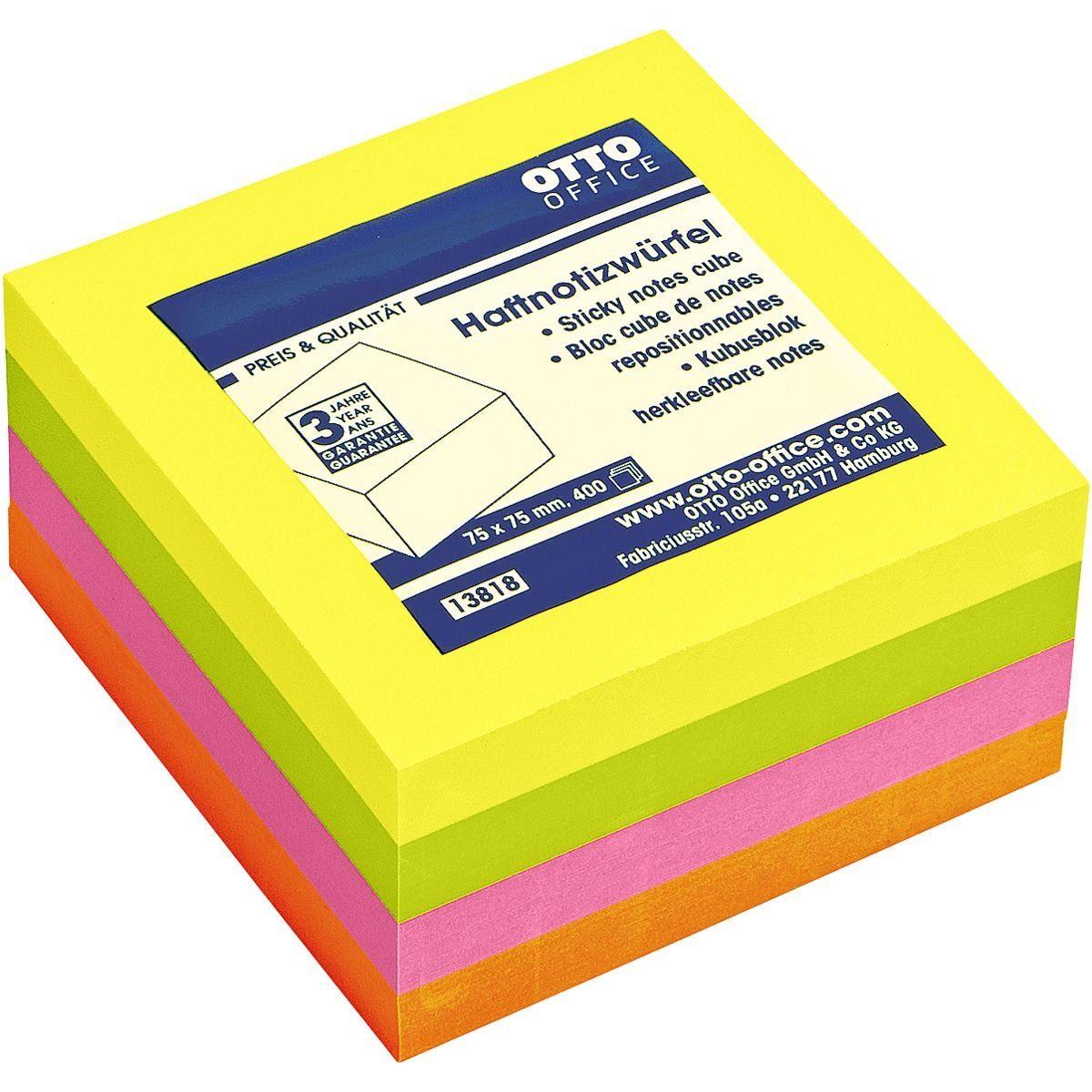 OTTO Office Standard Haftnotizwürfel