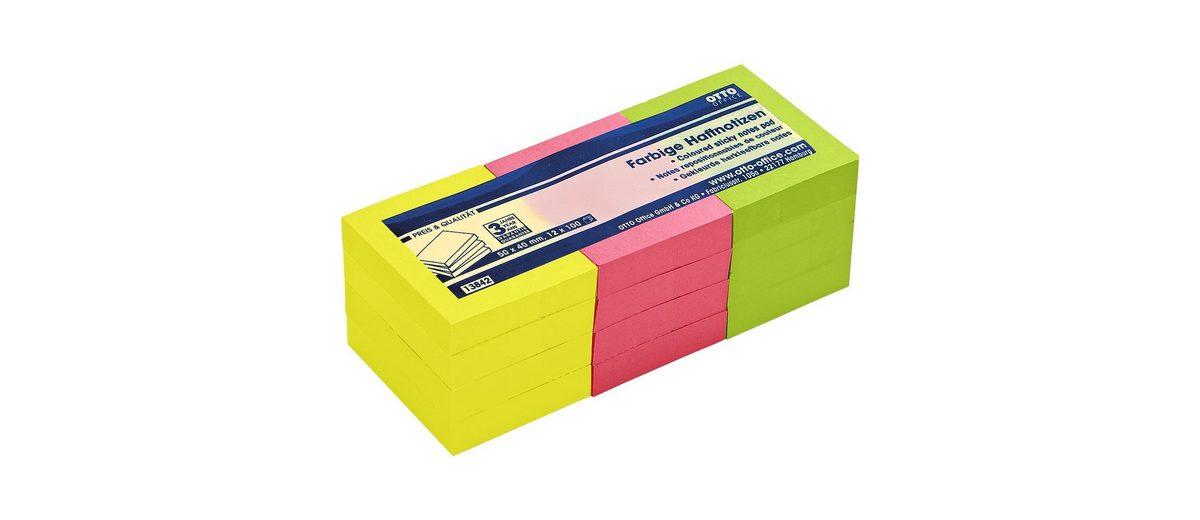 OTTO Office Standard 12er-Pack Haftnotizen