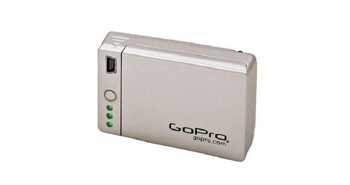 "GoPro Batterie-Pack für HERO4 »""Battery BacPac™"" ABPAK-401« in silber"