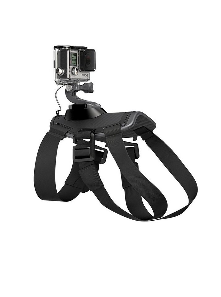 "GoPro Hunde-Halterung für HERO »""Fetch™ (Dog Harness)"" ADOGM-001« in schwarz"