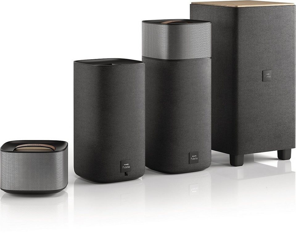 Philips Fidelio Surround-Sound für kabelloses Heimkino »E5 (CSS7235Y/12)« in schwarz