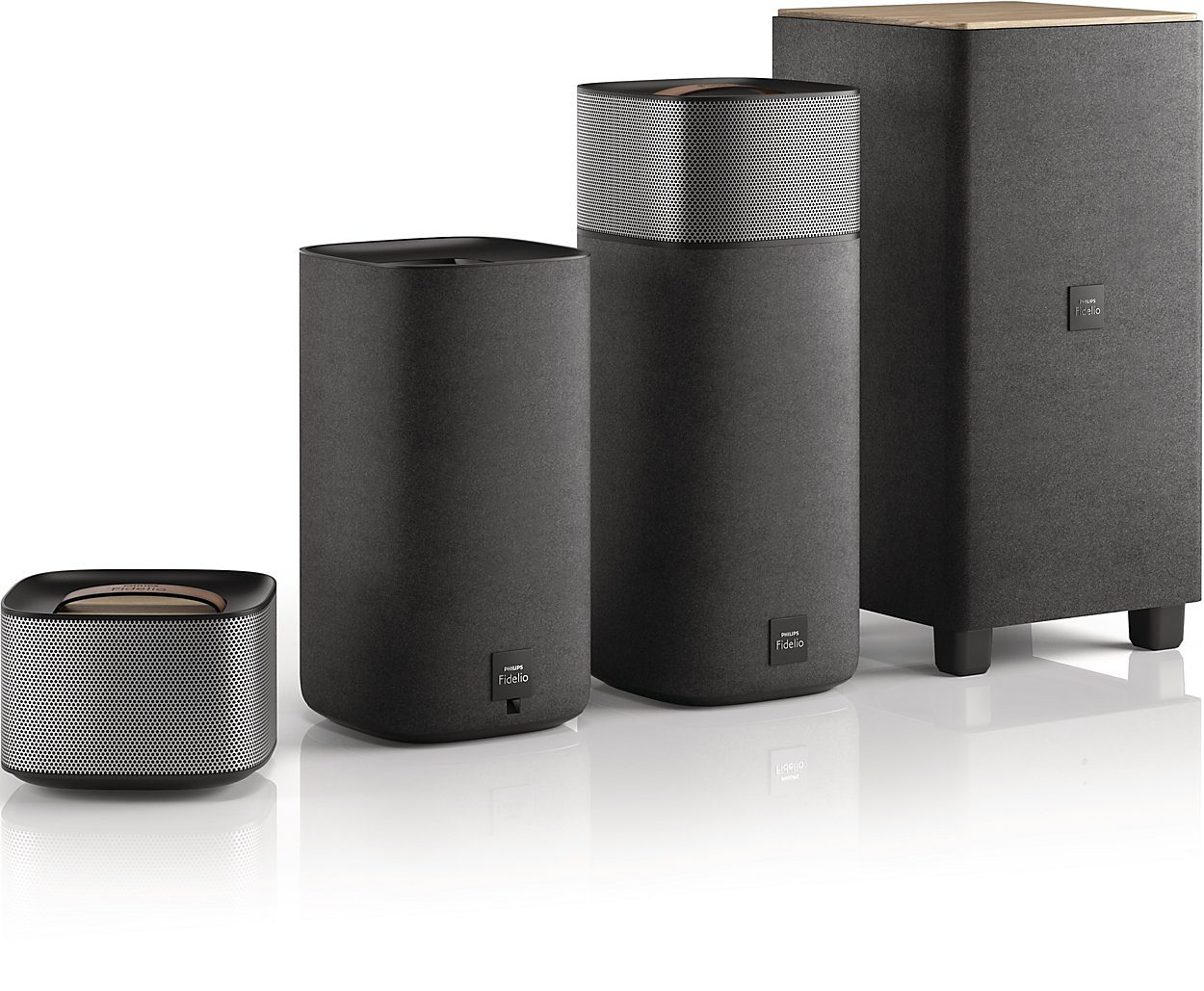 Philips Fidelio Surround-Sound für kabelloses Heimkino »E5 (CSS7235Y/12)«