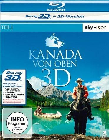 Blu-ray »Kanada von oben - Teil 1 (Blu-ray 3D)«