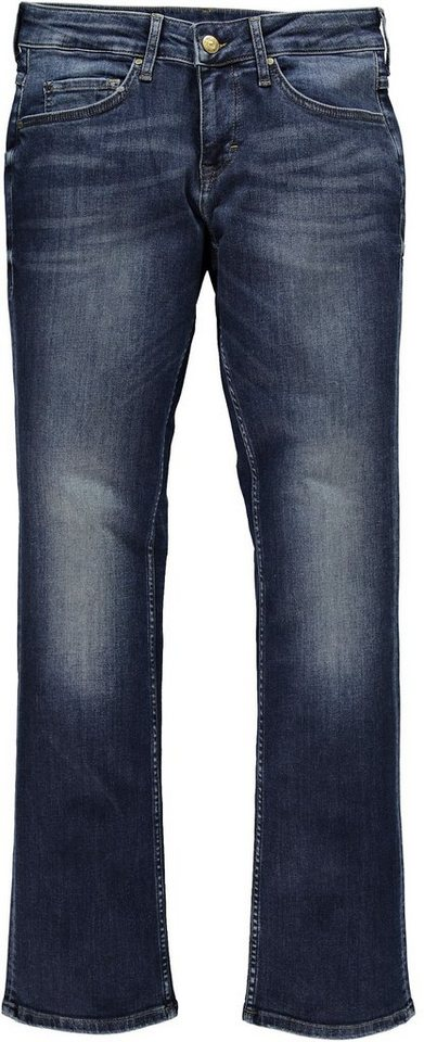 MUSTANG Stretchjeans »Sissy Straight« in dark scratched used