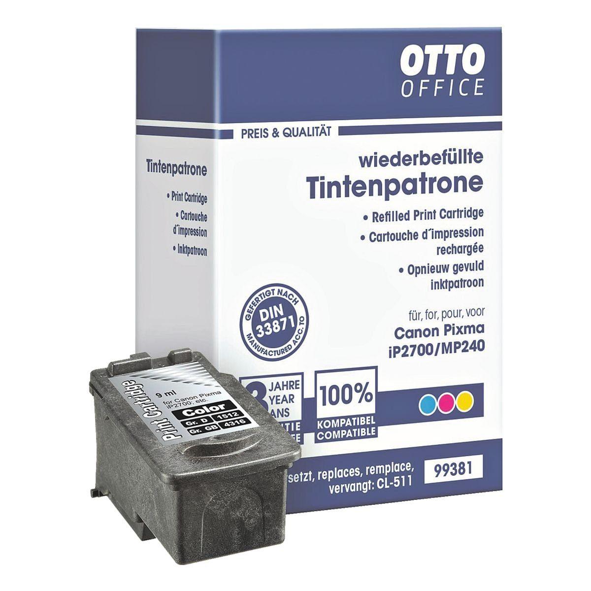 OTTO Office Standard Tintenpatrone ersetzt Canon »CL-511«