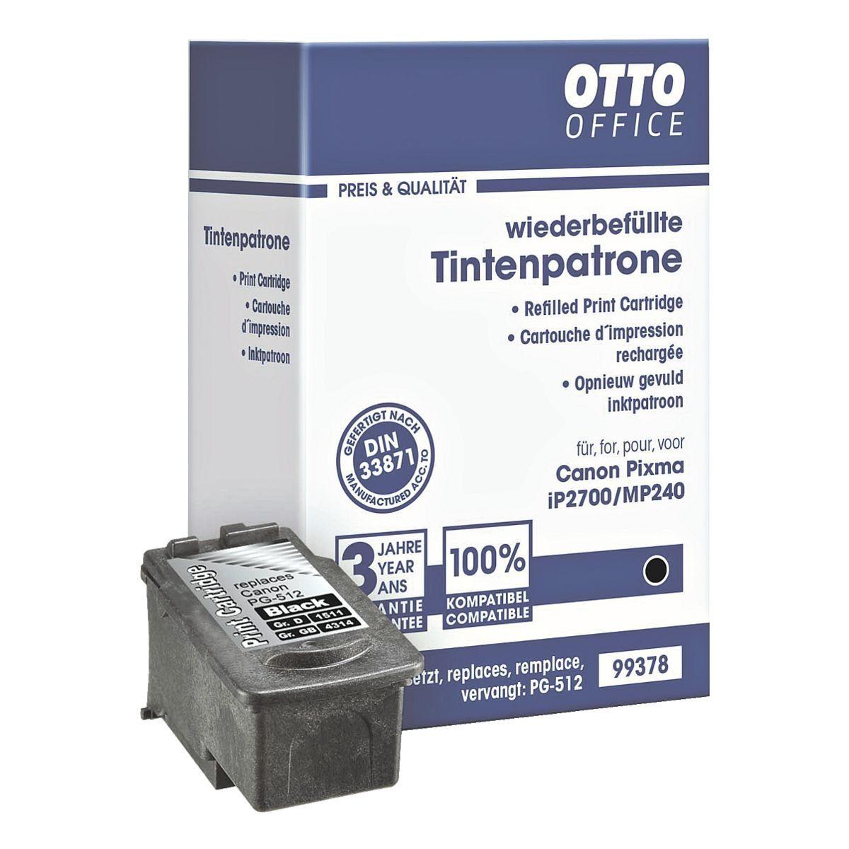 OTTO Office Tintenpatrone ersetzt Canon »PG-512«