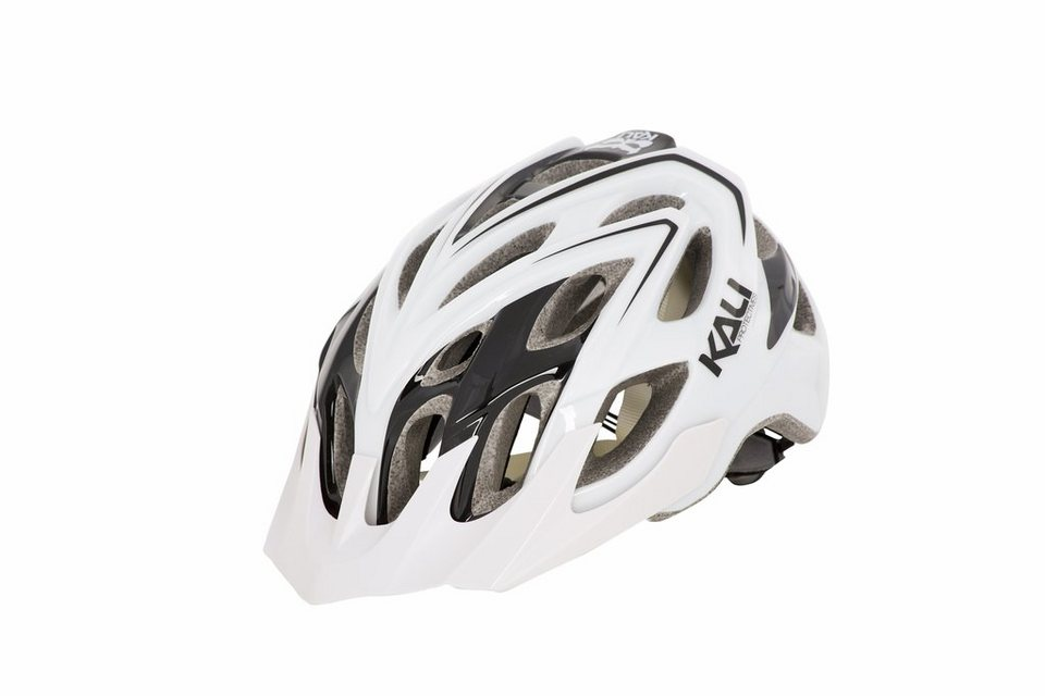 Kali Fahrradhelm »Chakra Plus Helm white/black« in weiß