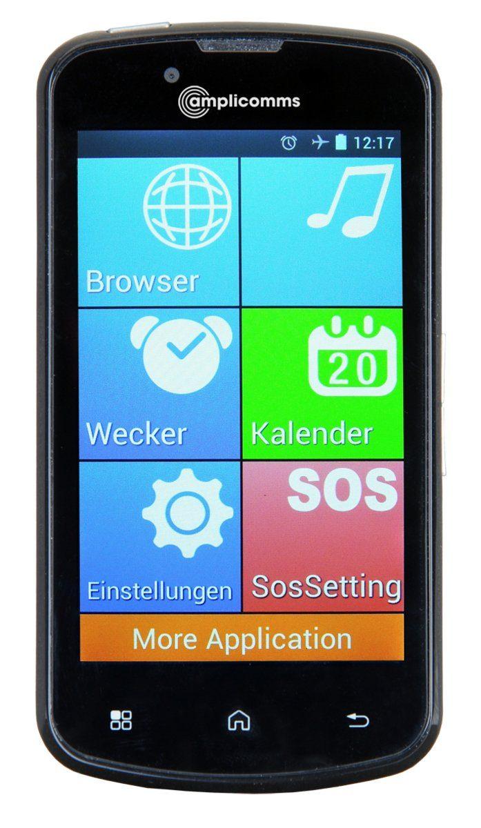 amplicomms Smartphone »PowerTel M9000«