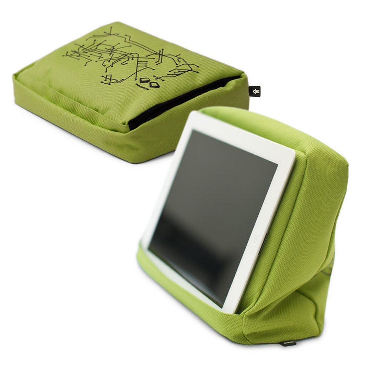 BOSIGN Bosign Tablet-Kissen TABLETPILLOW 2, Limonen grün, schwarz