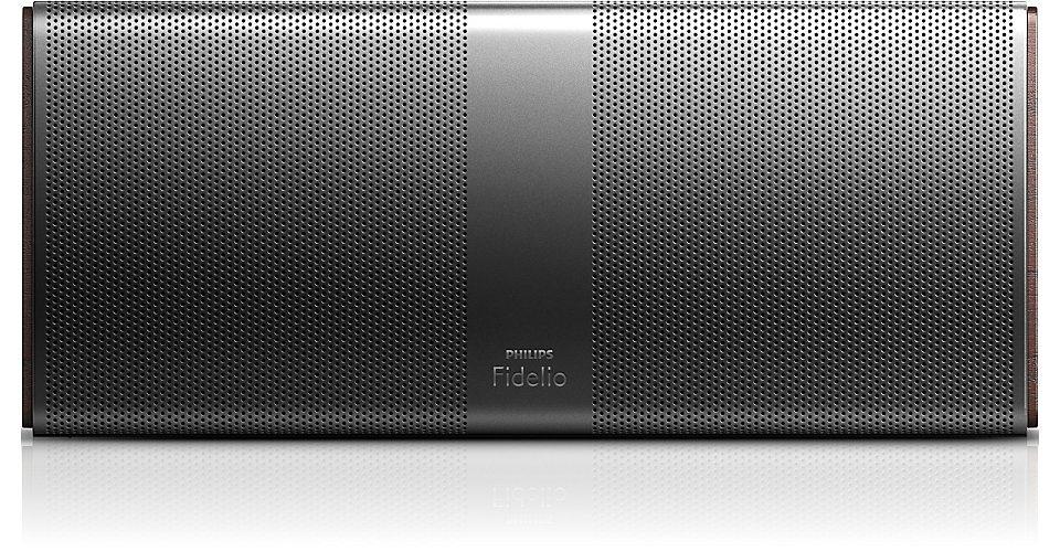 Philips Fidelio Bluetooth Lautsprecher mit Akku »P9X/10« in schwarz