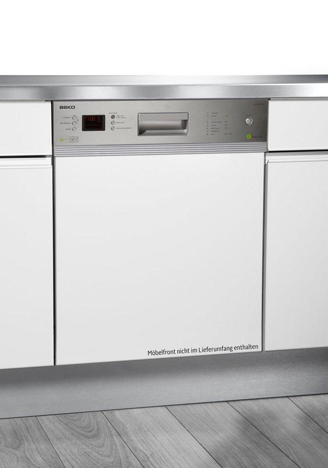 Beko integrierbarer Einbau-Geschirrspüler DSN 6832 FX304J, A+++, 10 Liter, 13 Maßgedecke - Preisvergleich