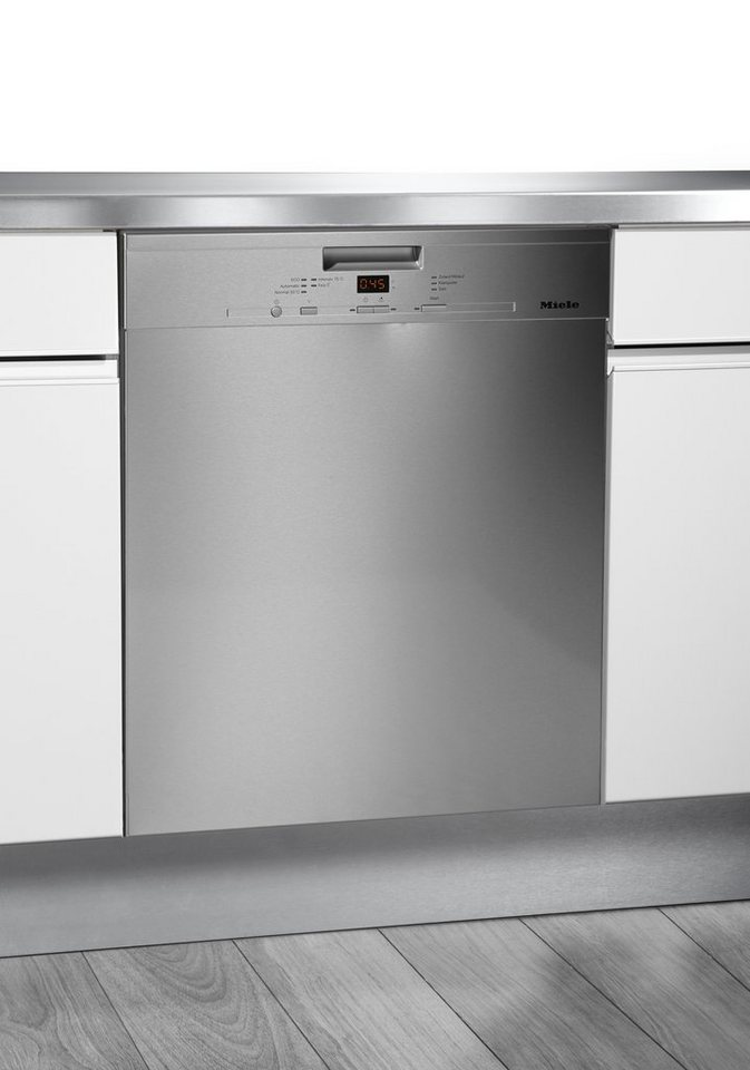 Miele Unterbau-Geschirrspüler G 4920 SCU, A++, 9,9 Liter, 14 Maßgedecke in edelstahl CleanSteel