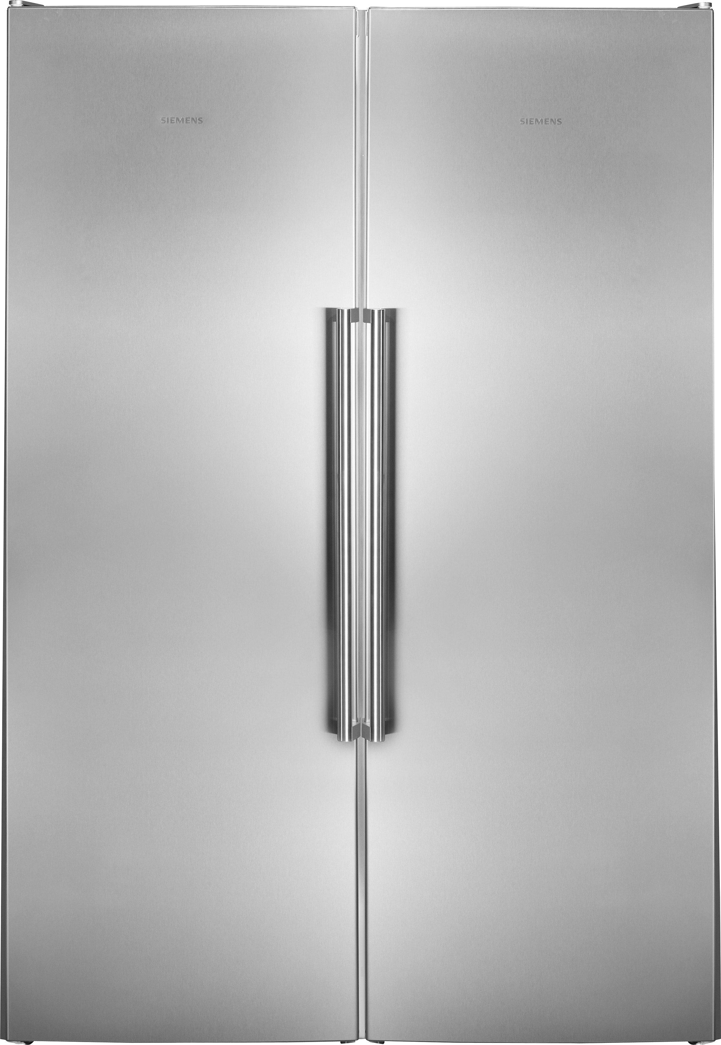 Siemens European Side by Side KA99FPI30, A ++, 186 cm hoch, NoFrost im Gefrierschrank