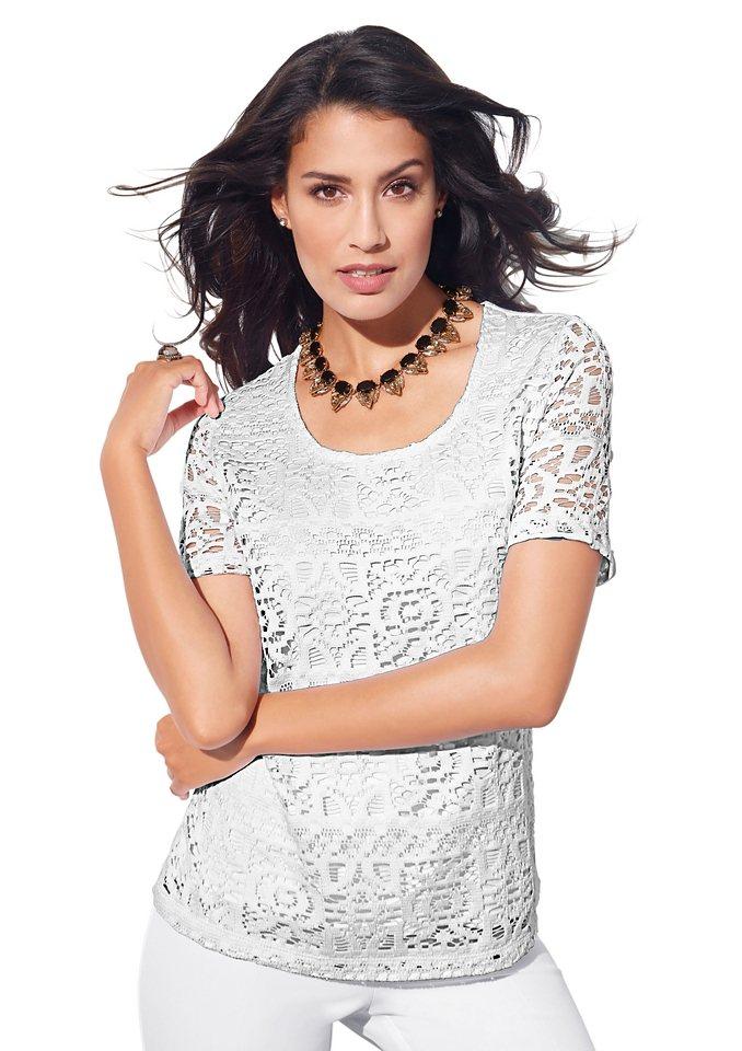 Alessa W. Shirt in weiß