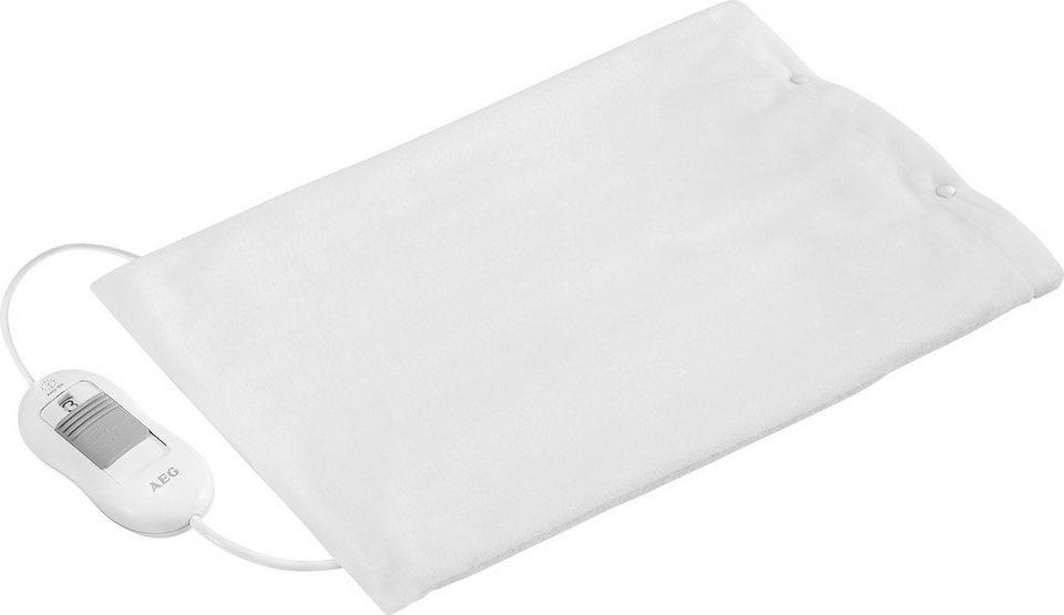 AEG, Heizkissen, AEG HK 5646, mit abnehmbarem Bezug in Weiß