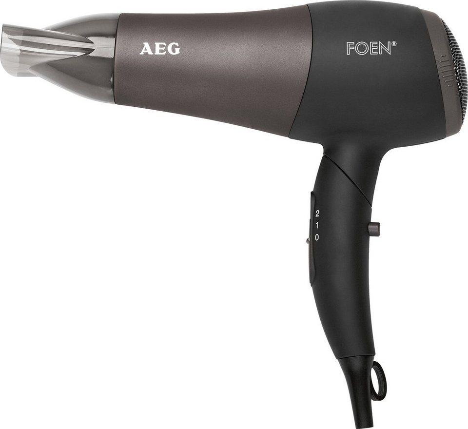 AEG, Profi-Föhn, HTD 5649 2200W, mit Klappgriff in schwarz-anthrazit