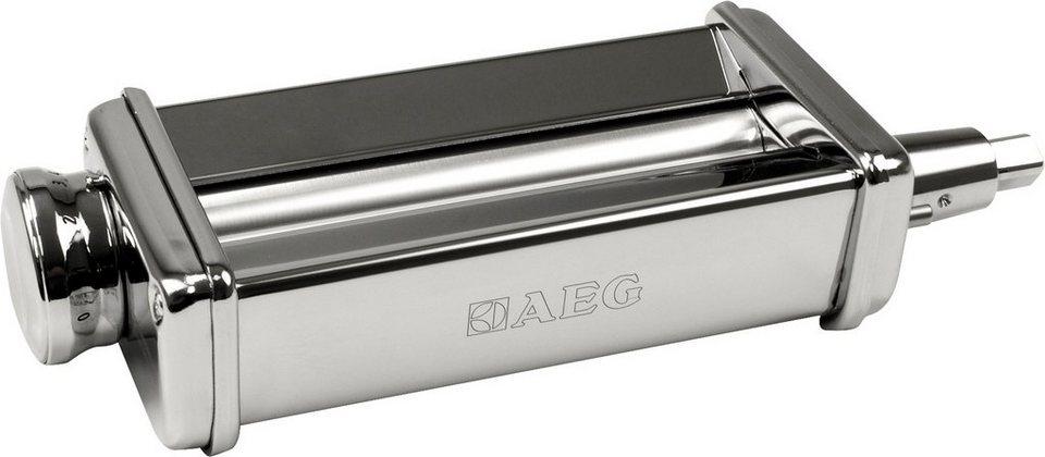 AEG Pasta Roller AUM PR: passend für AEG Küchenmaschinen KM4400/KM4000 in Edelstahl