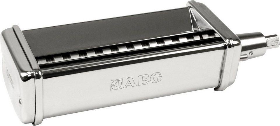 AEG Tagliatelle Schneider AUM PTC: passend für AEG Küchenmaschinen KM4400/KM4000 in Edelstahl