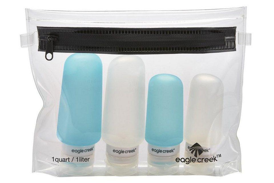 Eagle Creek Pack-It Sport- und Freizeittasche »Silicone Bottle Set« in transparent
