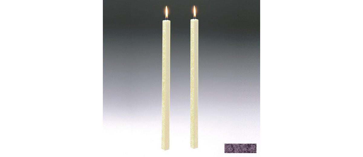 Amabiente Amabiente Kerze CLASSIC Aubergine 40cm - 2er Set
