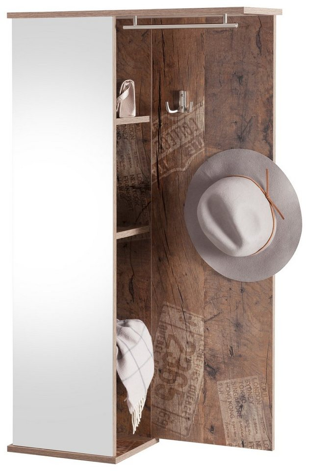 garderobe wil helm schild meyer preisvergleiche. Black Bedroom Furniture Sets. Home Design Ideas