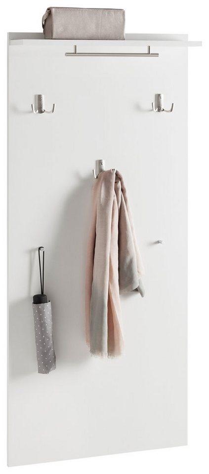 Garderobenpaneel, Schildmeyer, »Dorina« in weiß