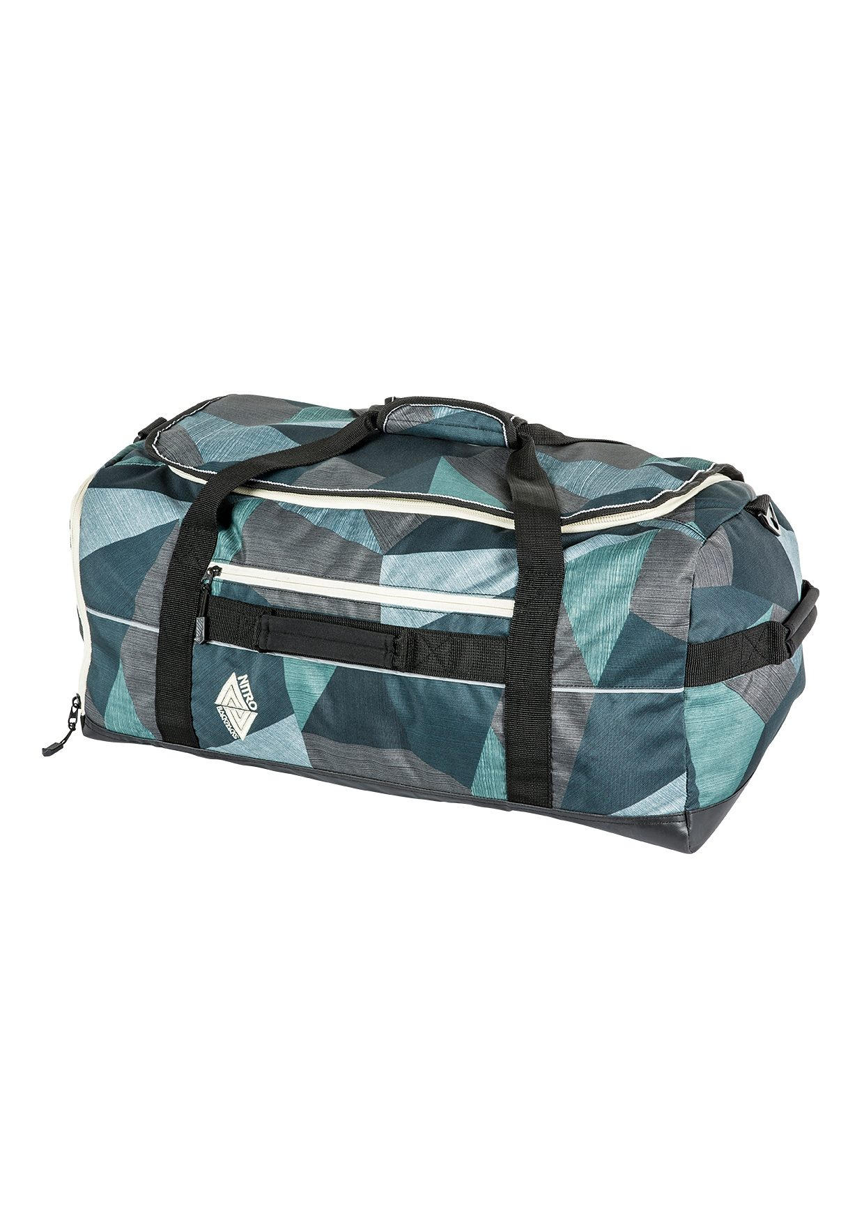 Nitro Reisetasche, »Team Duffle - Fragments Green«