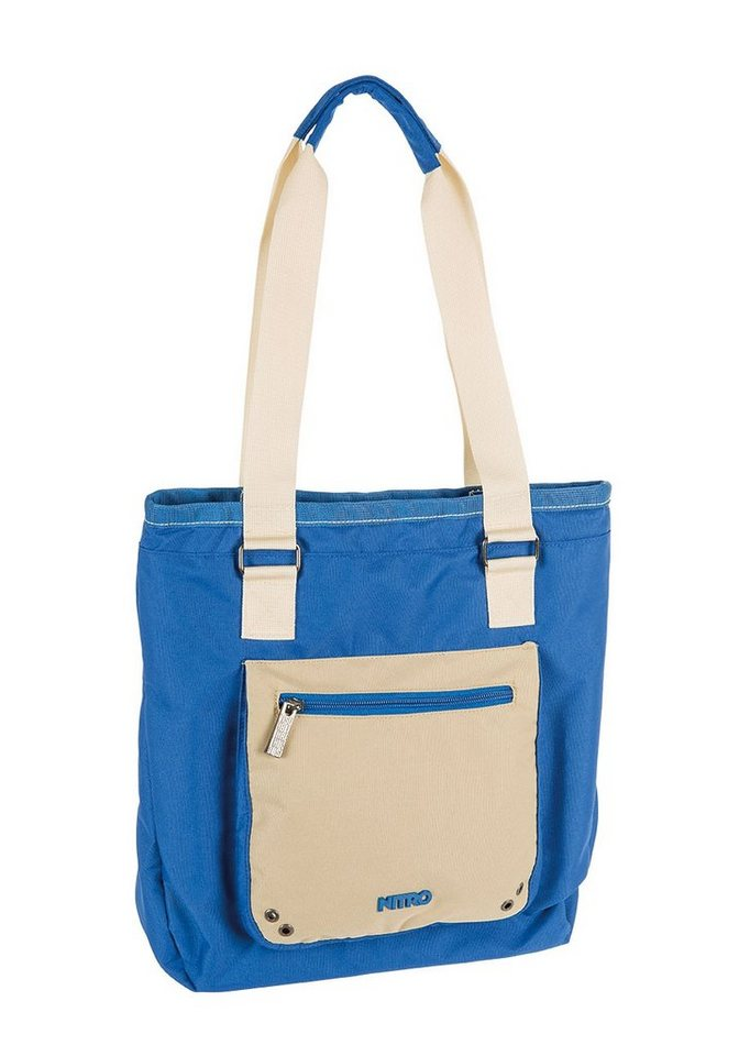 Nitro Shopper, »Tote Bag - Blue Khaki« in bunt