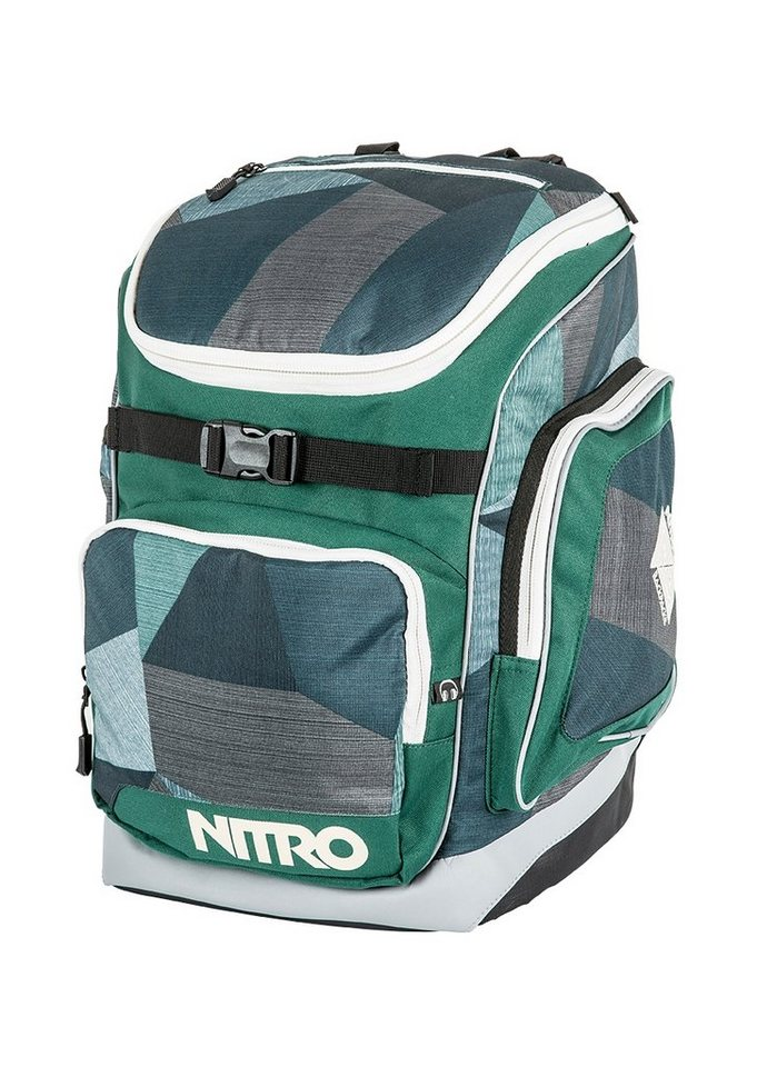 Nitro Schulrucksack, »Bandit - Fragments Green« in bunt