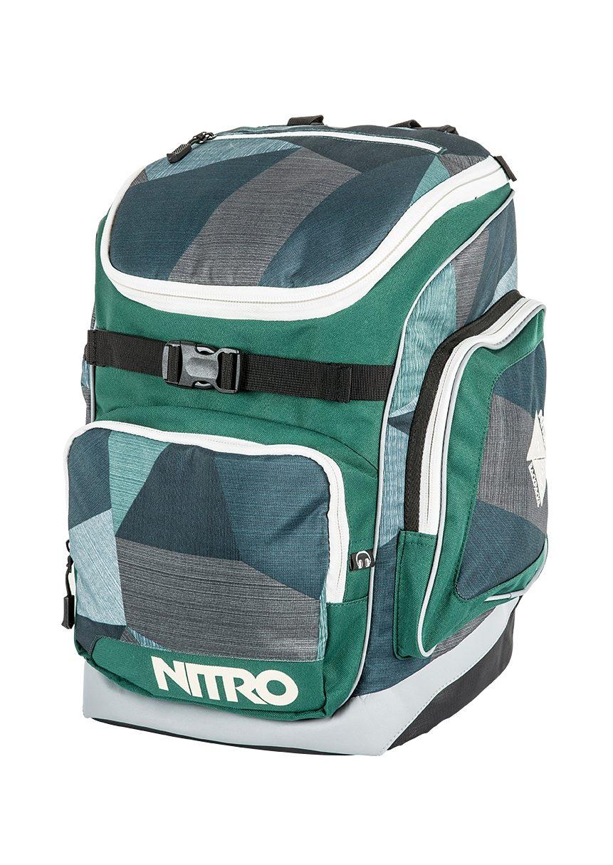Nitro Schulrucksack, »Bandit - Fragments Green«