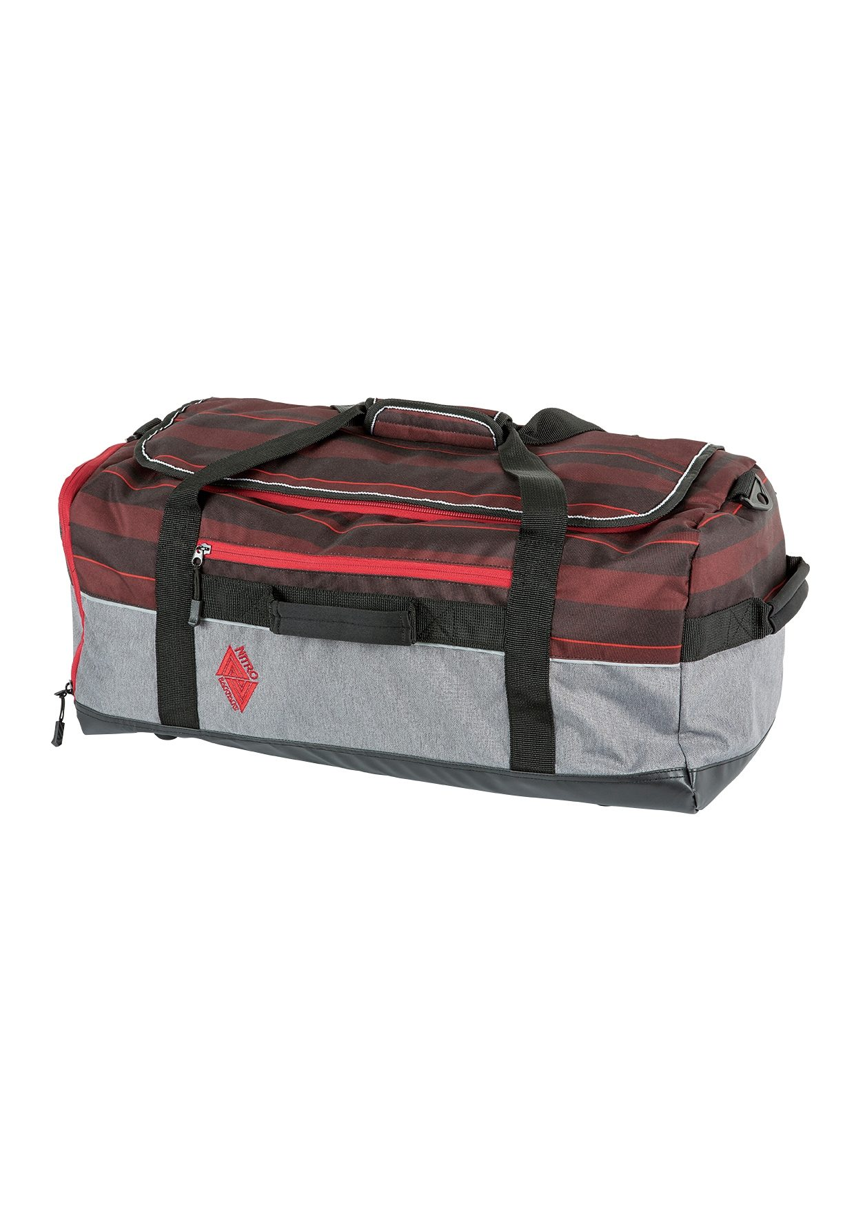 Nitro Reisetasche, »Team Duffle - Red Stripes«