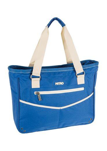 Nitro Mit Laptopfach Bag All Umhängetasche Khaki« »carry Blue OxZaq